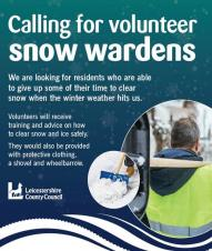 Calling For Snow Wardens