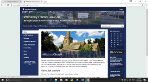 New Parish Council Website